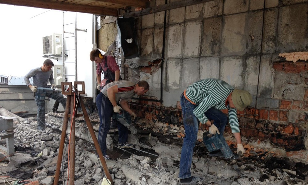 Безопасные и профессиональные демонтажные работы